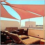 Toldo – Toldo – Triángulo, tela permeable, superduradera, gruesa, refugio, para patio al aire libre, jardín, patio, toldo refugio lona de tela