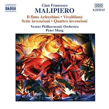 Malipiero: Il finto Arlecchino - Vivaldiana