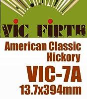 VIC FIRTH ( ビックファース ) VIC-7A American Classic 1セット(1ペア) 洗練された技術と品質を誇るVIC FIRTH Wood Tip