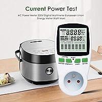 AC Power Meter 220V Digital Wattmeter Energy Meter Watt Monitor Analyzer EU/US/UK Plug Current Meters