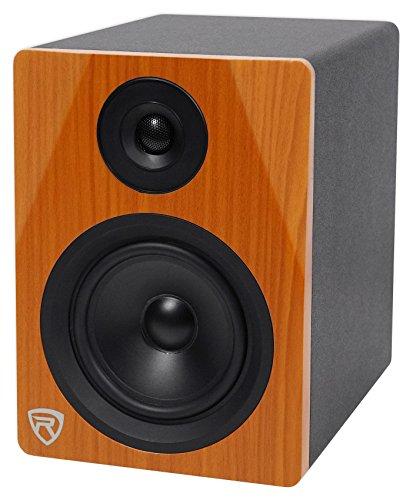 "Rockville 5.25"" 2-Way 150W Wood Active/Powered Studio Monitor Speaker (DPM5C)"