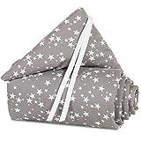 babybay Nestchen Piqué passend für Modell Original, taupe Sterne weiß