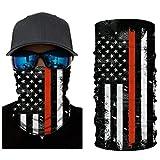 VCOROS 3D Bandana Face Mask United Stated Flag Seamless Balaclava Tube Sunny Shield (WFTJ-119 USA Flag)