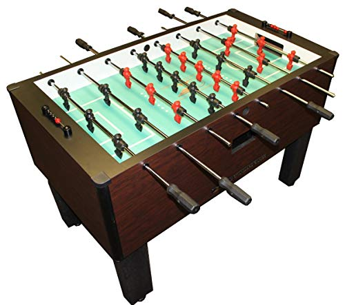 Buy Gold Standard Games Home Pro Foosball Table (Mahogany (QPQ Stainless Steel Rods-Black Handles))