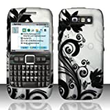BLACK VINES Hard Plastic Design Matte Case for Nokia E71 71x [In Twisted Tech Retail Packaging]