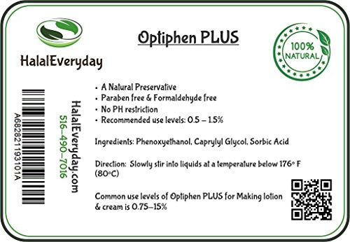 Optiphen Plus - Optiphen + Water Soluble and Very Gentle Preservative 4 Oz