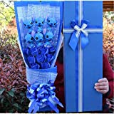 LoveTapestry Stitch Plüschtiere mit sechs Seifenblüten, Stitch Bouquets Cartoon Kuscheltier...