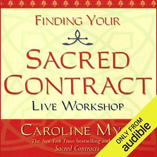 Finding Your Sacred Contract audiobook cover art