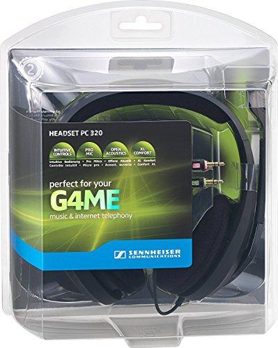 『ゼンハイザー PC320 ゲーミング・ヘッドセット PC/PS4対応 ブラック [並行輸入品]』の4枚目の画像