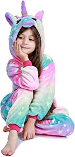 Kids Animal Onesie Unicorn Pajamas Halloween Costume