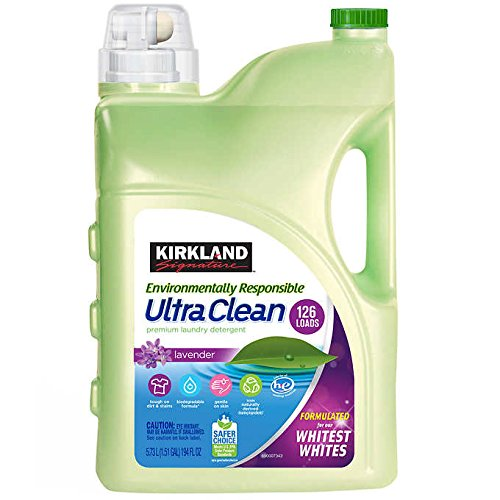 Kirkland Signature Environmentally Responsible Liquid Laundry Detergent 126 Loads