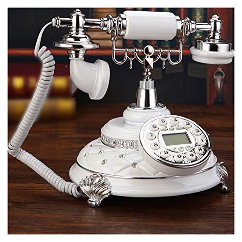 WSZMD Teléfono Pared Retro RadioteleFone Antiguo Arcaico Teléfono Fijo Inalámbrico Retro Teléfono Inalámbrico Oficina Hotel Retro Telefono