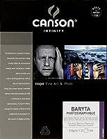キャンソン コピー用紙 バライタ フォトグラフィック A4 25枚 00002279