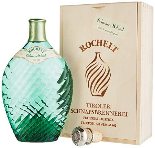 Rochelt Schwarze Ribisel 2010 52% Vol. 0,35 l in Holzkiste