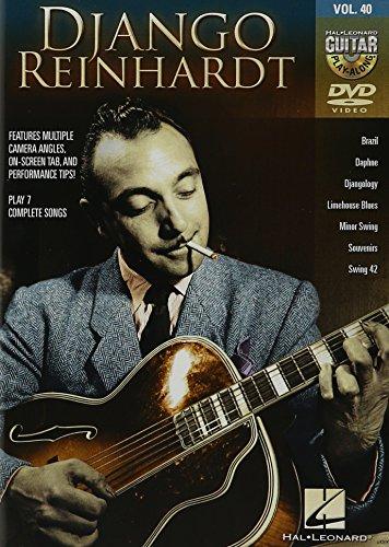 Guitar Play-Along DVD Volume 40: Django Reinhardt. For Guitar Tab