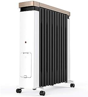 Radiador de aceite Caliente-2200 W / 2.2 KW-12 Disipador De Calor - Calentador Eléctrico Portátil para Conexión - 3 Niveles De Potencia, Termostato Ajustable, Apagado Automático -