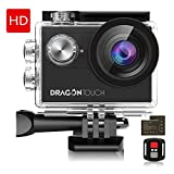 Dragon Touch 4K EIS Action Camera 16MP Vision 4 Support External Mic Underwater - Best Reviews Guide