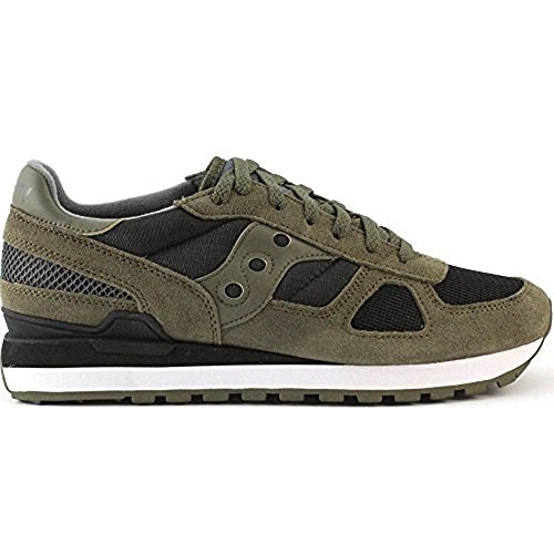 Saucony Shadow Original, Zapatillas de Cross para Hombre, Verde (Olive/Black), 42 EU