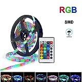 Tira de luz LED 5050 SMD DC12V Cinta de lámpara LED flexible Cinta RGB 5M 10M 15M Pantalla Cinta de diodo de luz de fondo-RGB_5M