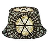 Sombrero de Sol con Cubo de Techo de Vidrio Transparente para Hombres y Mujeres - Sombrero de Verano con protección UV para acamparFlexible y Duradero para Adolescentes