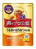 アサヒグループ食品 声のプロ公認うるおいはちみつのど飴 72g ×6袋