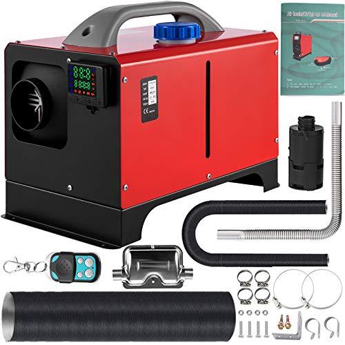 VEVOR Calentador de Aire Diésel, 8 kW Calefacción Estacionaria, 12 V Diésel Portátil, Calentador de Estacionamiento Diésel, Calefacción Estática Furgoneta, Diésel Calentador con Pantalla LCD (