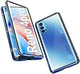 Hülle für Oppo Reno 4 Pro 5G Handyhülle Magnetische