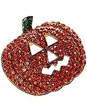 Pulabo - Broche de calabaza de Navidad para Halloween, diseño de calabazas