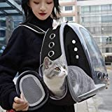 <span class='highlight'><span class='highlight'>ITODA</span></span> Pet Carrier Backpack Cat Dog Breathable Transparent Capsule Knapsack Portable Bubble Carrying Backpack Waterproof Outdoor Travel Bag for Cats Dogs Puppy Animals Walking Traveling Hiking