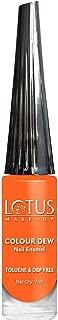 Lotus Makeup Colour Dew Nail Enamel, Orange Fusion, 7ml