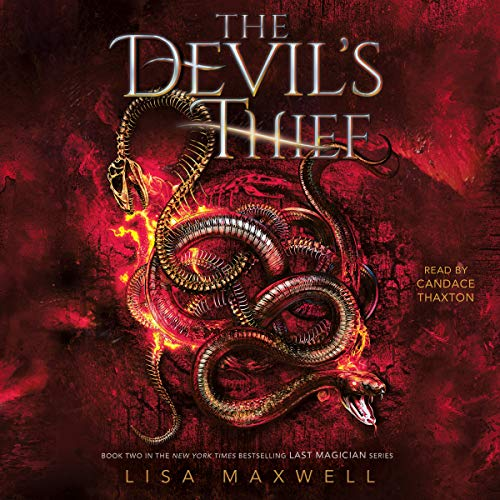 The Devil's Thief     The Last Magician Series, Book 2              De :                                                                                                                                 Lisa Maxwell                               Lu par :                                                                                                                                 Candace Thaxton                      Durée : 22 h et 19 min     1 notation     Global 5,0