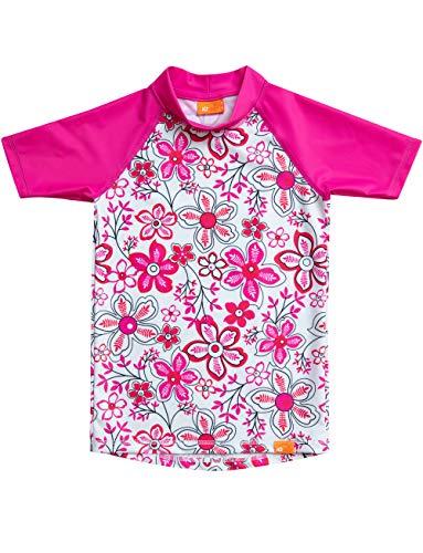iQ-UV Mädchen Strand und Meer Schwimmen Shirt, Pink, 140
