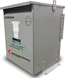 15 kVA 240D/480D Volt Primary to 480D/240D Volt Secondary 3 Phase Transformer
