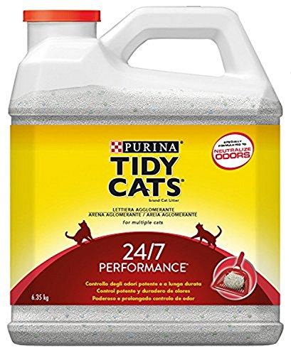 Purina Tidy Cats 24/7 perfumada Arena para gatos 3 x 6,35 Kg