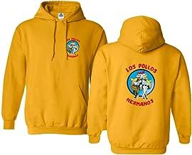 Sheki Apparel Los Pollos Hermanos Funny TV Parody Mens Hoodie Hooded Sweatshirt