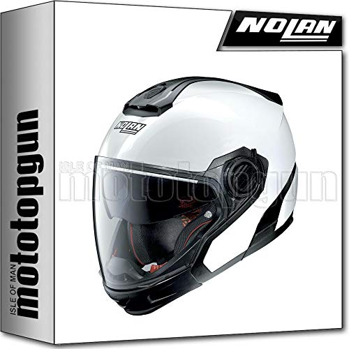 NOLAN CASCO MOTO CROSSOVER N40-5 GT SPECIAL PURE BIANCO 015 TG. S