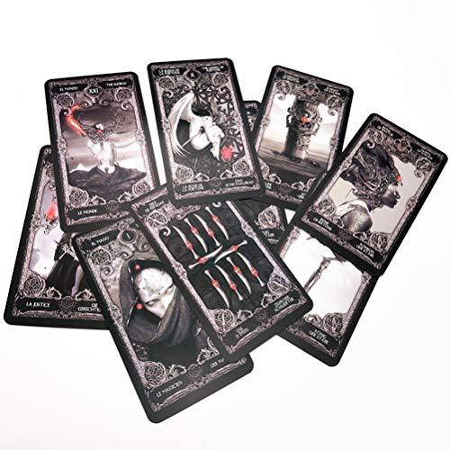 SYJH Tarot oceanico Baraja De Cartas Tarot, Dark Adivination Fate Inglés para Niñas