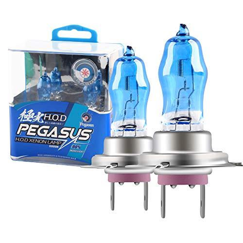 2Pcs H7 100W Super Bright Xenon White 6000K Halogen Lamp Light Bulb 12V Car...