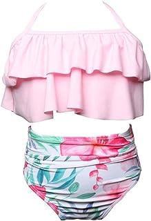Homyl Baby M/ädchen Lace Kleid R/üsche Hose Pumphose Windel decken