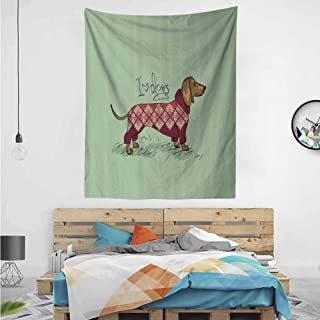 HouseLook Animal in Clothes Wall Hanging Bedding Tapestry 52