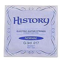 HISTORY HEGSN017 エレキギター弦 G-3rd .017 バラ弦1本 (ヒストリー)