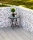 SkyMall Decorative 15ft. Pebble Design Deck and Fence Privacy Screen Netting