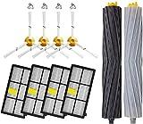 Piezas de repuesto para aspiradoras Kit de filtros y cepillos...