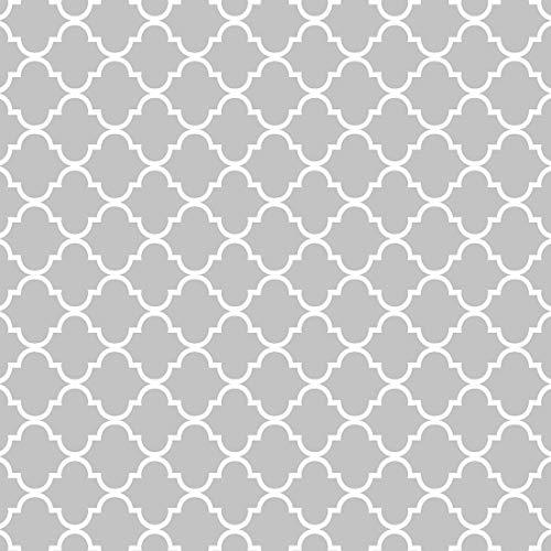 HEKO PANELS Oxford Tessuto Impermeabile al Metro Tessuti per Tappezzeria per Esterni ed Interni –100% Poliestere Stoffa al Metro – Tessuto Resistente allo Strappo e allo Sporco – Grigio Marocchino