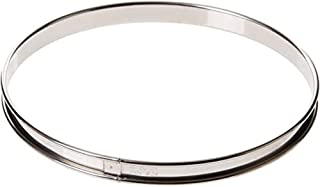 DE BUYER -3091.24N -cercle a tarte inox ht 2cmbd roule ø24