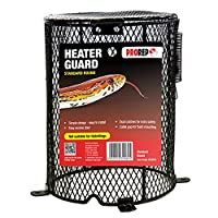 A quality and robust vivarium heat guard Simple design and easy to install Access door for bulb change Dual spring catches for extra safety Cable gap for flush mounting