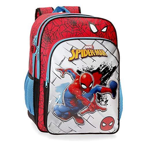 Marvel Spiderman Red Mochila Escolar, Rojo