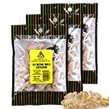 Asia Trans Li Hing Mui Dried Ginger Candy - Crystallized and Preserved Asian Fruit Slices with Plum...