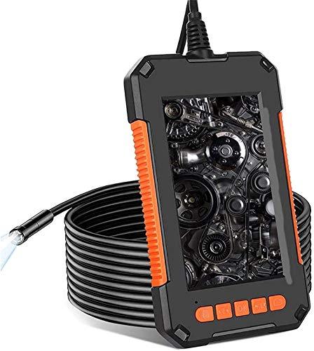 Endoscopio Portátil, Cámara de inspección de endoscopio, cámara de endoscopio inalámbrico 1080p WiFi boroscopio con cable semi rígido para dispositivos de tableta Smartphone / iPhone / Samsung, 5 m ,C