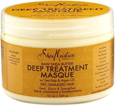 Shea Moisture Raw Shea Masque 12 Ounce Jar 354ml 2 Pack product image